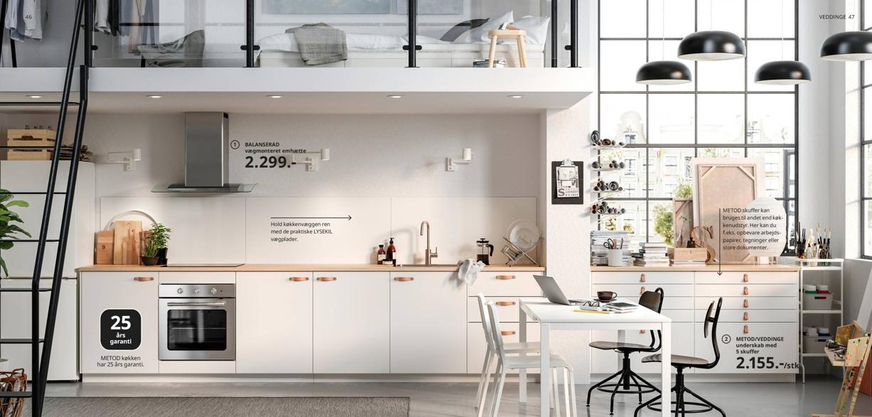 Ikea Kokken Fa Inspiration Til Et Kokken Der Ikke Koster Kassen